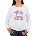2021 Girls Graduation Women's Long Sleeve T-Shirt