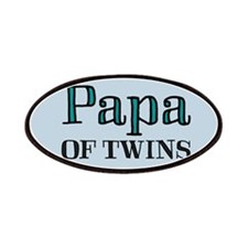 Papa OF TWINS Patches