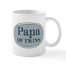 Papa OF TWINS Small Mugs