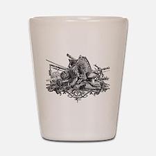 Medieval Armor Shot Glass