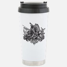 Medieval Armor Stainless Steel Travel Mug
