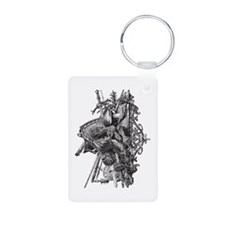Medieval Armor Keychains