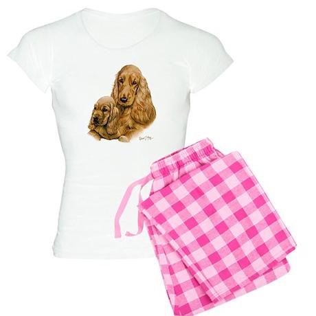 Cocker Spaniel (English) Women's Light Pajamas