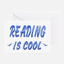 Reading is Cool Greeting Card
