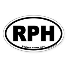 Radford Power Hour RPH Euro Oval Decal