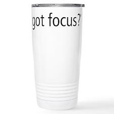 Unique Focus Travel Mug