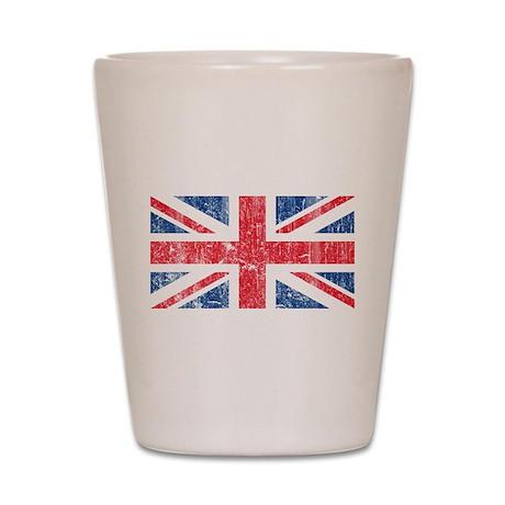 Vintage British Shot Glass