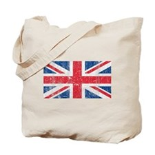 Vintage British Tote Bag