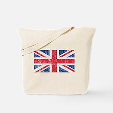 Vintage British Tote Bag