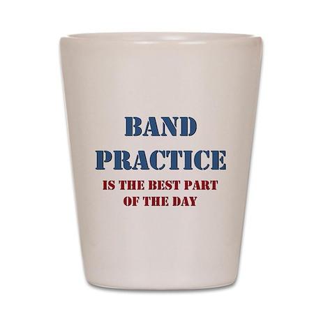 Band Practice Shot Glass
