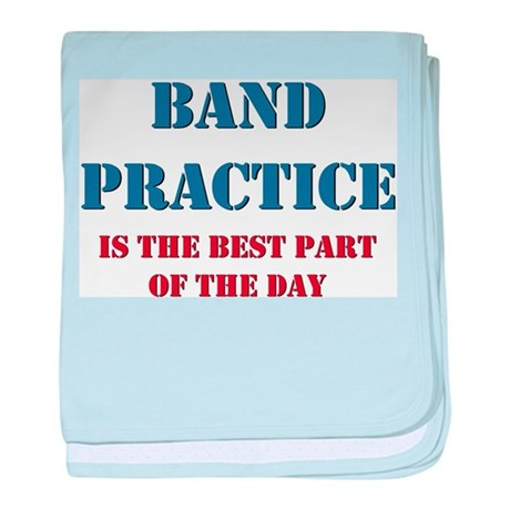 Band Practice baby blanket