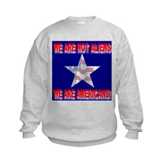We Are Not Aliens We Are Amer Sweatshirt