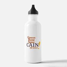 Raising Some Cain Water Bottle