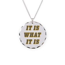 It Is What It Is Gray and Go Necklace