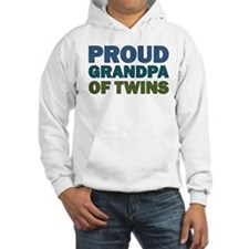 Proud Grandpa of Twins Hoodie