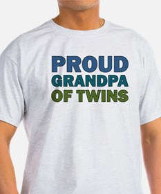 Proud Grandpa of Twins T-Shirt