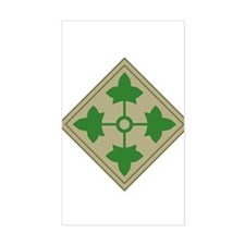 4th Infantry Decal