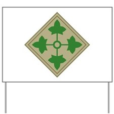 4th Infantry Yard Sign