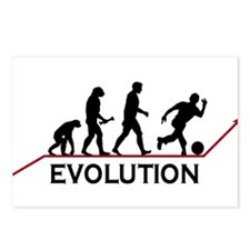 Bowling Evolution Postcards (Package of 8)
