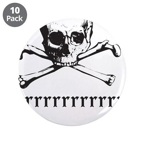 """Arrrrrrrrrrrr 3.5"""" Button (10 pack)"""