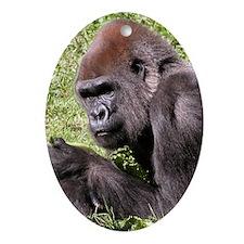 Gorilla Oval Ornament
