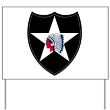 2nd Infantry Yard Sign