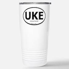 Cute Ukulele player Travel Mug