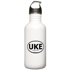 Cute Ukulele player Water Bottle