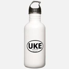 Cute Ukulele player Water Bottle