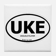 Cute Ukelele Tile Coaster