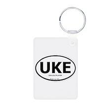 Tiki King UKE Logo Keychains