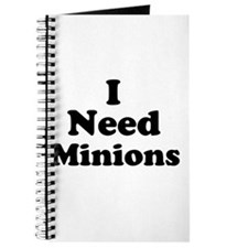 I Need Minions Journal