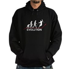 Skiing Evolution Hoodie