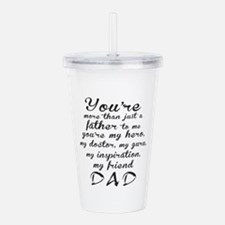 You Are #DAD Acrylic Double-wall Tumbler