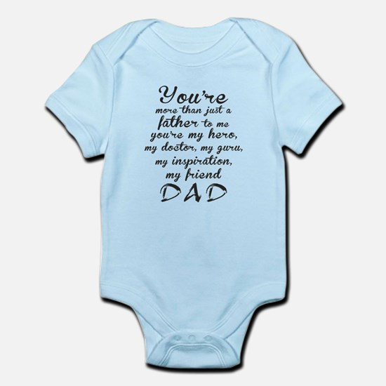 You Are #DAD Infant Bodysuit