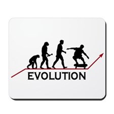 Skateboarding Evolution Mousepad