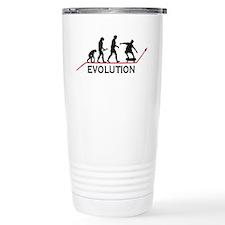 Skateboarding Evolution Travel Mug