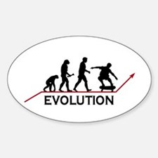 Skateboarding Evolution Decal