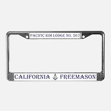 Pacific Rim Lodge License Plate Frame
