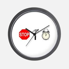 Stop, Hammer Time Wall Clock