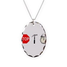Stop, Hammer Time Necklace