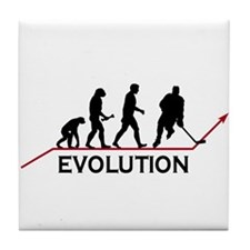 Hockey Evolution Tile Coaster