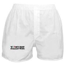 Hot Italian Wife Boxer Shorts