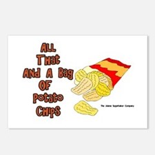 All That and a Bag of Chips Postcards (Package of