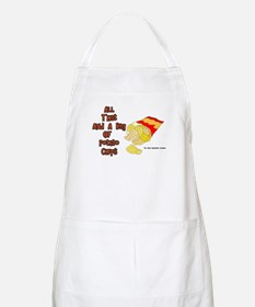 All That and a Bag of Chips BBQ Apron
