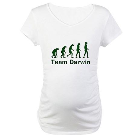 Team Darwin Maternity T-Shirt