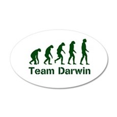 Team Darwin 22x14 Oval Wall Peel