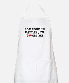 Someone in Dallas BBQ Apron