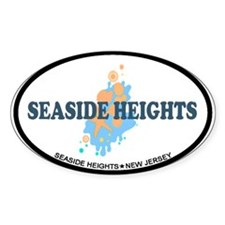 Sandy Hook NJ - Seashells Design Decal