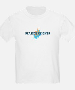 Sandy Hook NJ - Seashells Design T-Shirt